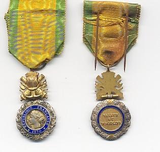 M 233 Daille Militaire Nos Anc 234 Tres De 14 18